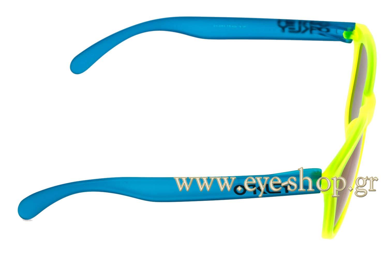 OakleyμοντέλοFrogskins 9013στοχρώμα24-289 Blacklight Blue iridium