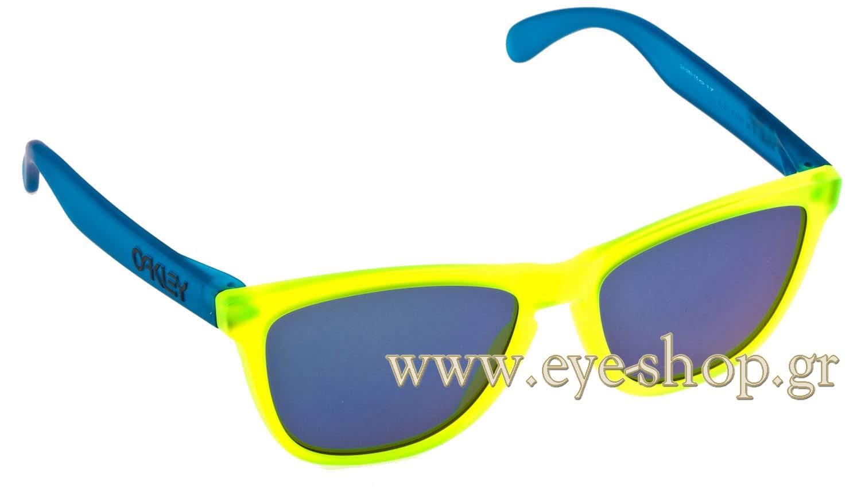 ΓυαλιάOakleyFrogskins 901324-289 Blacklight Blue iridium