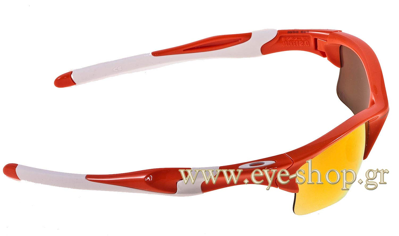 oakley square wire 2.0 fire iridium a8ae  Oakley Half Jacket 20 XL 9154 02 Blood Orange