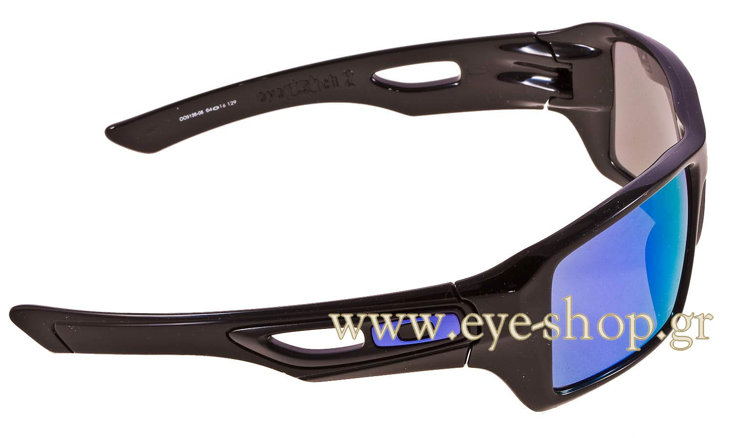 Oakley Eyepatch 2 - Polished Black Frame - Violet Iridium
