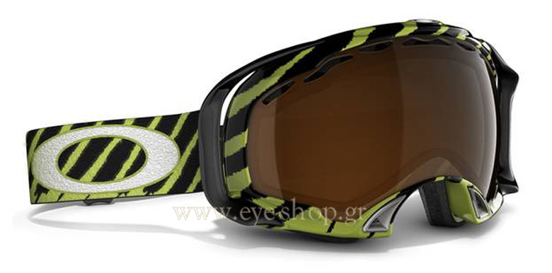 OakleyμοντέλοSPLICE SNOWστοχρώμα7022 57-426 Shaun White Enamel Mint - Black Iridium