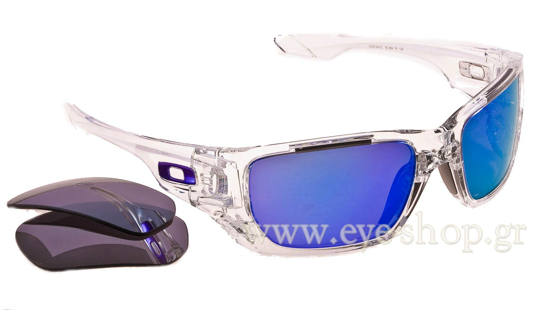 Oakley Style Switch 9194 03 Clear Violet Idirium Black