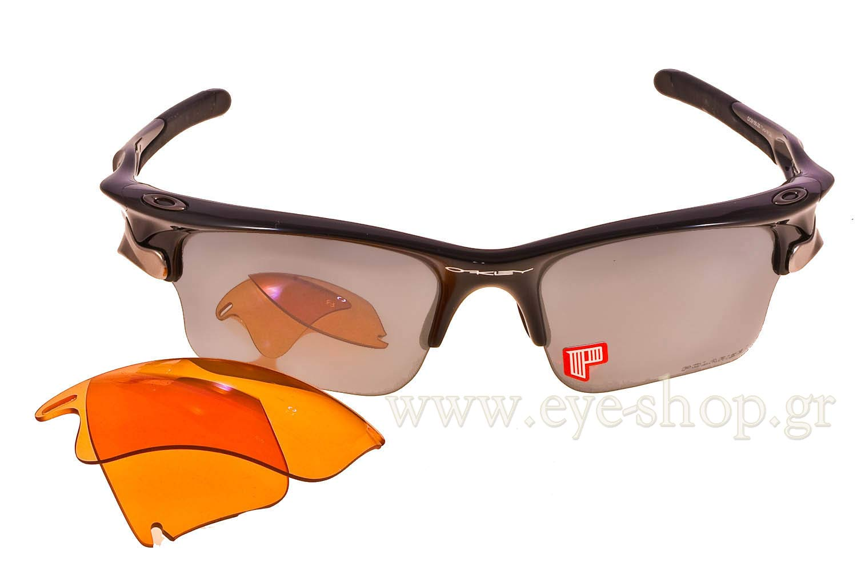 ea686489b1 Oakley Fast Jacket XL 9156 20 Black Iridium polarized - P42 Iridium. Oakley  Fast Jacket