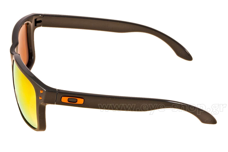 OakleyμοντέλοHolbrook 9102στοχρώμα74 Fire Iridium Polarized
