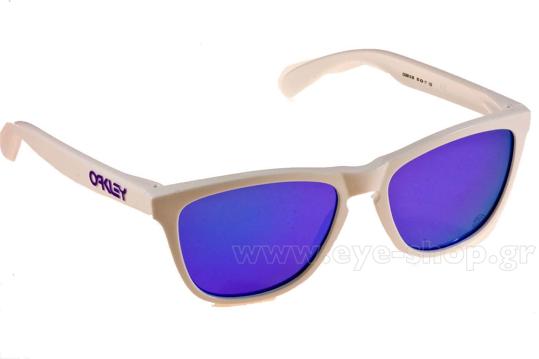 ΓυαλιάOakleyFrogskins 901335 Polished White Violet Iridium