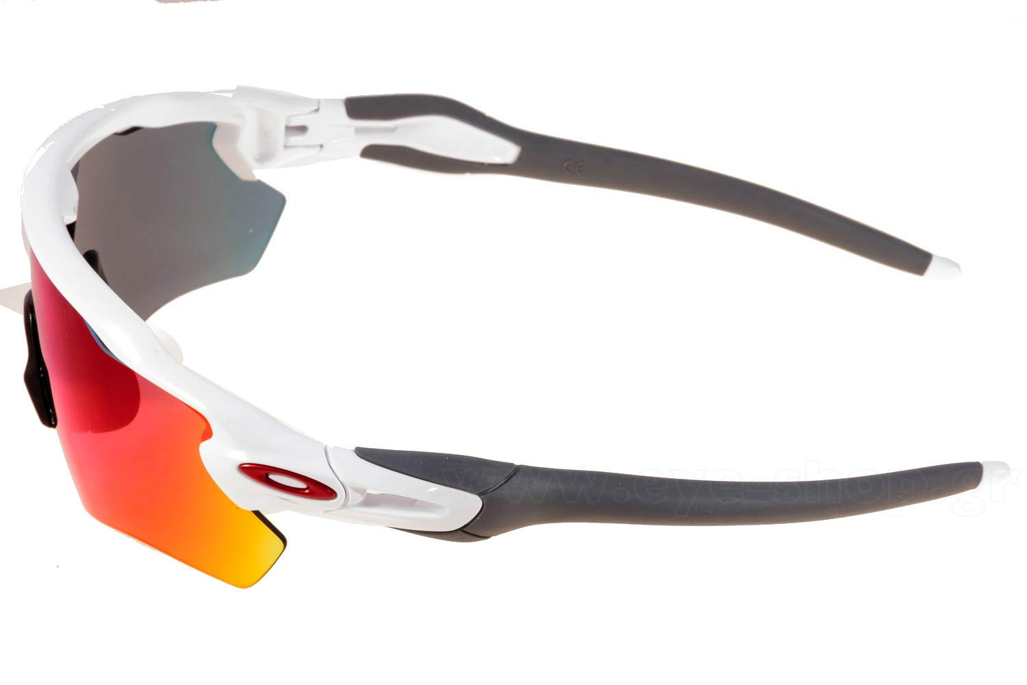 Oakley μοντέλο RADAR EV PATH 9208 στο χρώμα 18 Polished White Red Iridium