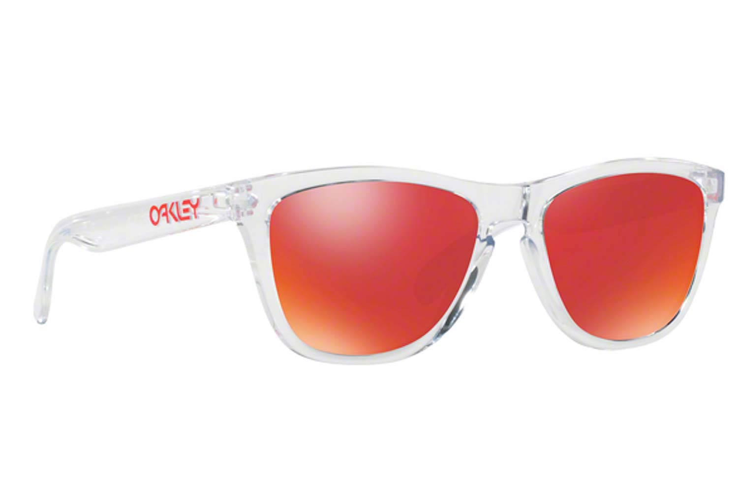 Γυαλιά Oakley Frogskins 9013 A5 Crystal Clear Torch Iridium