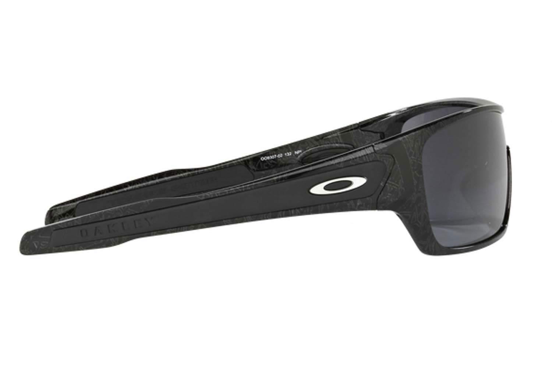 OakleyμοντέλοTurbine Rotor 9307στοχρώμα02 BlkSilver GhostTxt Black Iridium