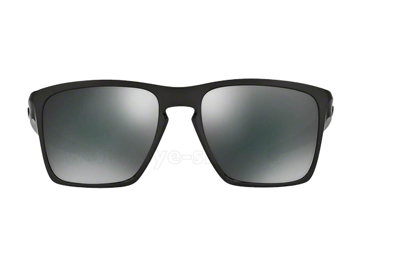 Oakley Latch Squared >> Oakley SLIVER-XL-9341 05 Pol Black Black iridium | Ανδρικά ...