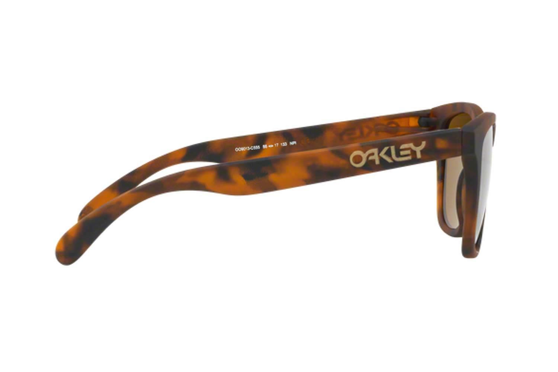 OakleyμοντέλοFrogskins 9013στοχρώμαC5 καφέ  prizm tungsten