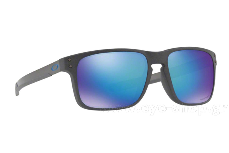 ΓυαλιάOakleyHolbrook Mix 938410 STEEL prizm sapphire polarized