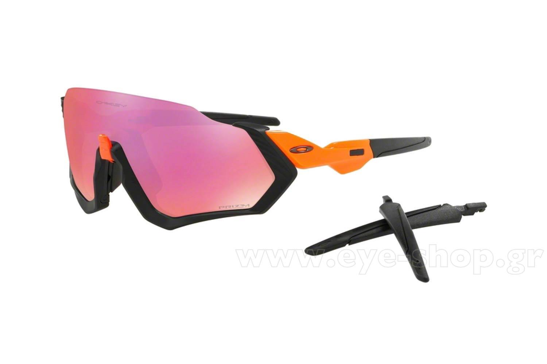 ΓυαλιάOakleyFlight Jacket 940104 Neon Orange